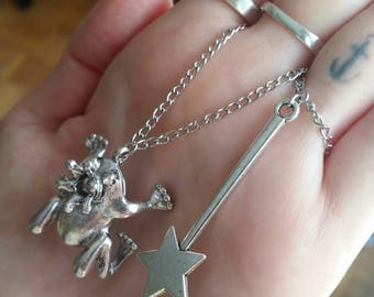 Double Frog Prince necklace