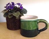 Green Tritone Mug