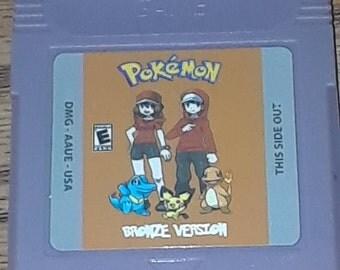 Pokemon Bronze Game Boy Color GBC Custom English