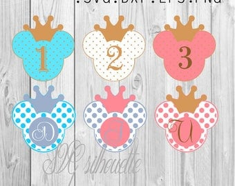 Сircle Monogram Frames Bows Svg Cutting File Vector Clipart