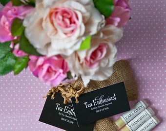 Herbal tea Inspired Lip Inspired Trio Lip butter balm collection