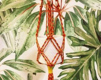 Macrame Plant Hanger / Candle Holder