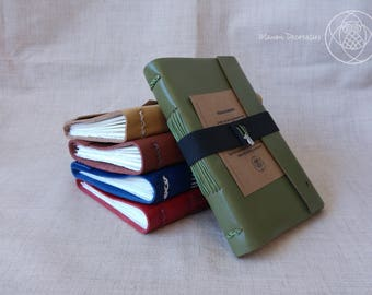 Handmade Travel Journal (GREEN)