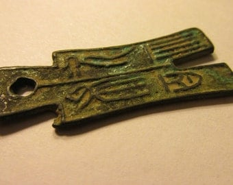 Old Metal Chinese Coin Currency for Jewelry Making, 47mm