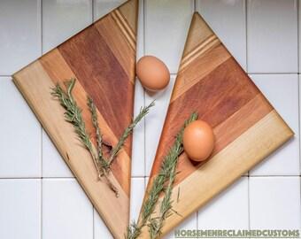 Wooden serving board