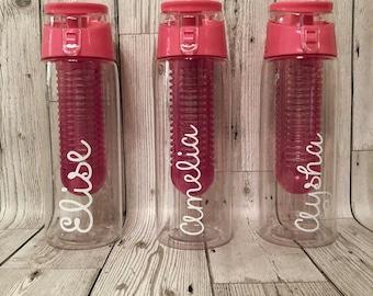 Personalised Water Bottle - Name Drinks Bottle - Sports Bottle - Love Island - School Water Bottle - Gym Bottle - Back To School