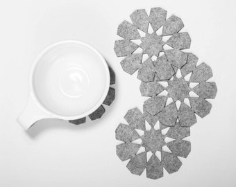 Arabesque Coasters - set of 4