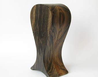 The best headphones friendly Wooden stand of bog-wood, smoked-oak