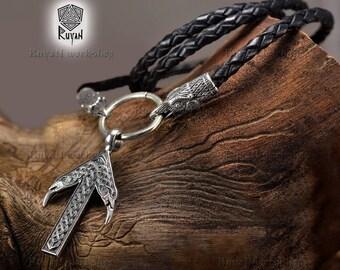 Tyr rune pendant. Viking jewerly. Viking Rune. Tiwas rune. Elder futhark