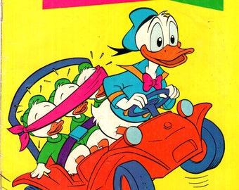 Walt Disney's Comics and Stories Volume 34 #1 Donald Duck Gold Key Comics 1974 FN+ 6.5