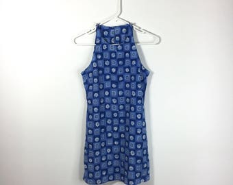90s Daisy Mini Dress | Size: Small