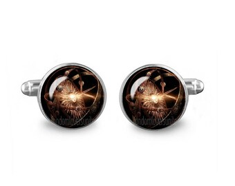 Game of Thrones Orb CuffLinks Game of Thrones Cuff Links 16mm Cufflinks Gift for Men Groomsmen Novelty Cuff links Fandom Jewelry