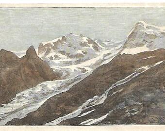 Monte Rosa-antique prints-1895