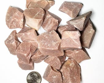 1 Rough Peach Aventurine - Natural Stones - Chakra, Reiki, Crystal Healing