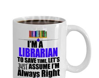 National Library Workers' Day Funny Librarian Gift Mug