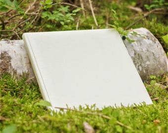 Ivory guest book, Wedding memories, Wedding Guest Book, Wedding Gift, Luxury Wedding Guest Book, Personalized Guest Book, Gift