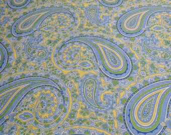 Glorious Garden-Patient Paisley Provence Cotton Fabric Designed by April Cornell for Free Spirit