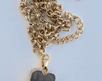 Gold Gem Necklace
