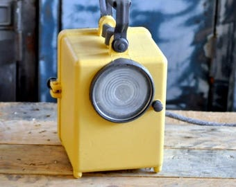 Small lamp by French Railway