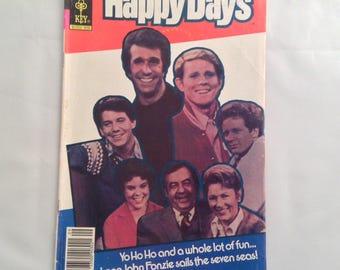 Vintage Comic Book Happy Days