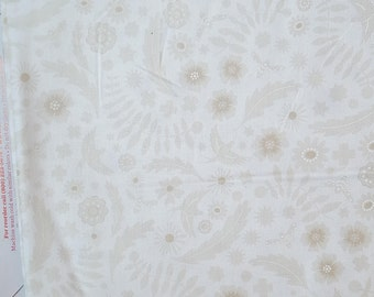 Alison Glass Sunprint 2017 Meadow in Wisp White Low Volume Fabric by the Yard