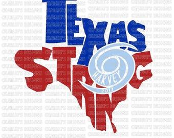 Hurricane Harvey Texas Strong