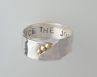 Embrace The Journey Ring