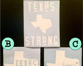 Texas Decals