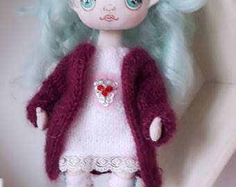 baby-blue doll
