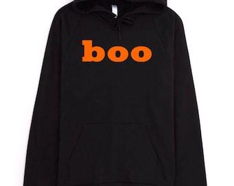 Halloween Hoodie, Boo Hoodie, Tumblr Hoodie, Tumblr Aesthetic, American Apparel Hoodie, Cotton Hoodie, Funny Hoodie, Black Hoodie