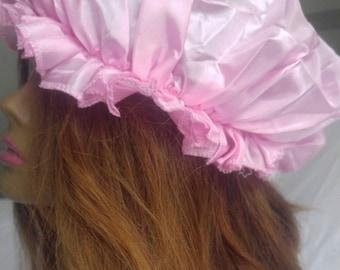 Satin Hair Bonnet|Satin Bonnet Sleep Cap| Sleep Cap for Hair Care|