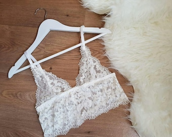 LIMITED EDITION • Aurora White Lace Bralette