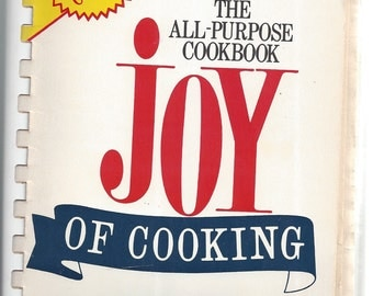 JOY OF COOKING by Irma S. Rombauer, Marion Rombauer Becker 1973 (spiral)