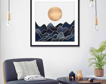 Waves by Elisabeth Fredriksson Art Print