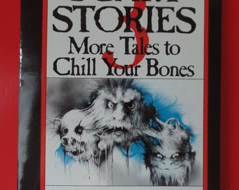 1991 Scholastic Scary Stories 3: More Tales to Chill Your Bones Vintage Paperback