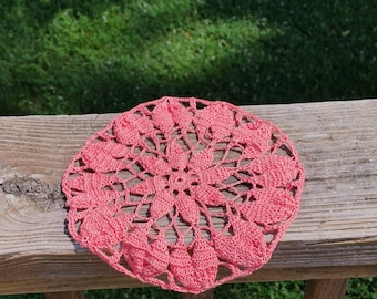 Thread Doily/Pink Doily