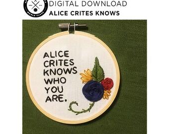 Alice Crites Knows — DIGITAL DOWNLOAD