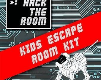 Hack The Room | Kids Escape Room Kit | Printable