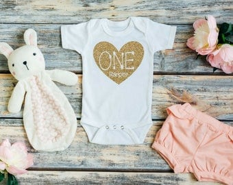 One year old girl birthday outfit - First birthday - Birthday outfit - 1st birthday outfit - One year old - First birthday girl - Birthday