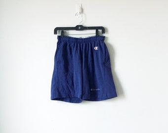 90s Champion Shorts - Vintage Champion Clothing - 90s Shorts - 90s Running Shorts - 90s Clothing - 90s Normcore Shorts - Women's L