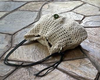 White crochet bag, Crochet bags and purses, Crochet handbag, Crochet shoulder bag, Everyday bag, Vintage bag, Purse, Cotton purse, Women bag