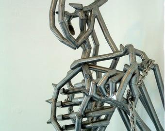 Industrial Steel Figure