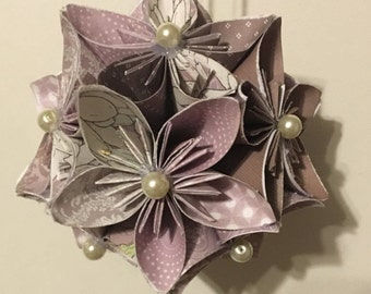 Mini Paper Flower Globes