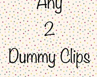 Any 2 Dummy Clips