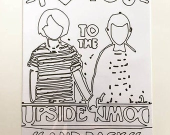 Love You to the Upside Down and Back Artwork