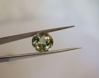 14mm Round Green Amethyst ( Prasiolite ) Loose Gemstone.