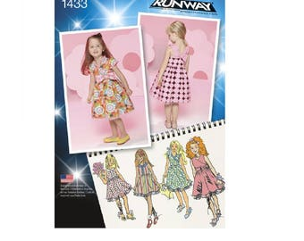 Simplicity Pattern 1433 - Toddlers' and Child's Project Runway Dresses