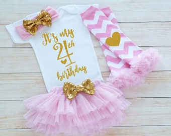 4th Birthday Girl Outfit, Fourth Birthday Outfit Girl, 4th Birthday Outfit, Birthday Gift, Fourth Birthday Girl Shirt, 4th Birthday Bodysuit