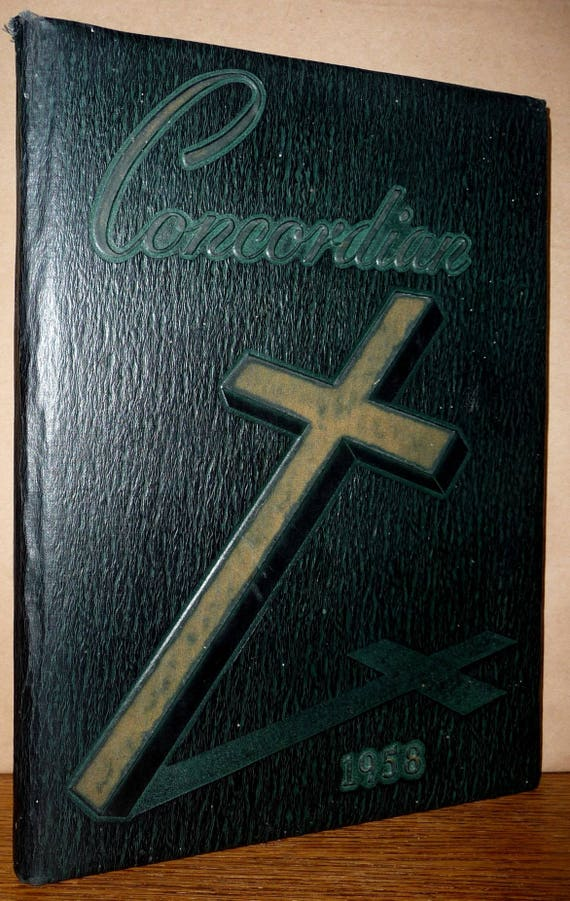 Concordia Collegiate Institute Prep School Yearbook (Annual) 1958 - Condordian - Bronxville, New York NY Westchester County