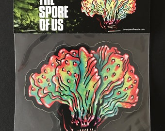 "The Spore of Us ""Clicker"" Paint Sticker by Alexander Fechner"
